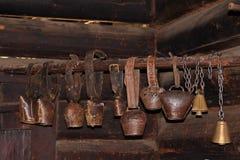 cowbell παλαιό Στοκ Εικόνες