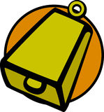 Cowbell vector illustration Stock Images