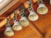 cowbells Ελβετός Στοκ Εικόνες