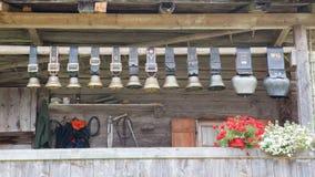 cowbells Ελβετός Στοκ Εικόνα