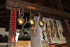 cowbells швейцарские Стоковые Фото
