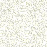 cowberry βγάζει φύλλα το πρότυπο άνευ ραφής Στοκ φωτογραφία με δικαίωμα ελεύθερης χρήσης