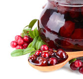 Cowberry jelly Royalty Free Stock Photos