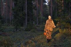 cowberrys επιλέγοντας νεολαίε&si Στοκ Εικόνες