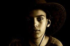 cowboy Arkivbild