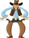 cowboy royaltyfri illustrationer
