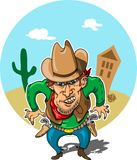 Cowboy Stock Afbeelding