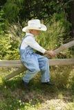 cowboy 2 little Arkivfoton