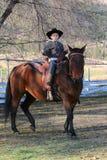 Cowboy Fotografie Stock