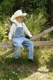 cowboy 4 little Arkivfoton