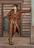 cowboy vektor illustrationer