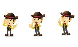 Cowboy 2 lizenzfreie abbildung