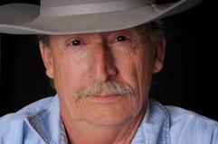 Cowboy aîné photo libre de droits