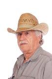 Cowboy aîné Image libre de droits