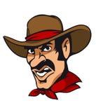 Cowboy americano Fotografie Stock Libere da Diritti