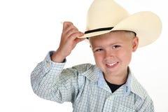 Cowboy americano Imagem de Stock Royalty Free