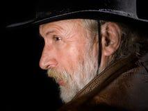 Cowboy anziano Fotografia Stock