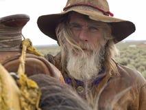 Cowboy anziano Fotografie Stock Libere da Diritti