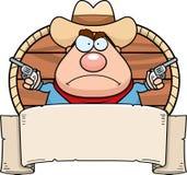 Cowboy Banner Royalty Free Stock Photos