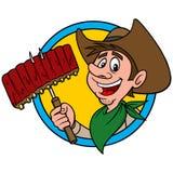 Cowboy BBQ Royalty Free Stock Photos