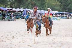 Cowboy Beach Fotografie Stock