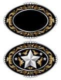 Cowboy belt buckle design I vector. Cowboy belt buckle design, isolated on white background, vector format available Vector Illustration