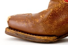 Cowboy boot Royalty Free Stock Photos