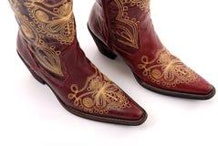 Cowboy boots. Royalty Free Stock Image