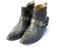 Cowboy boots royalty free stock photography