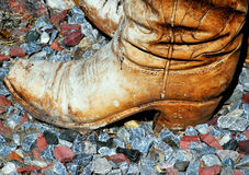 Cowboy boots. Royalty Free Stock Photos