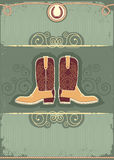 Cowboy boots. Stock Image