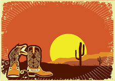 Cowboy boots. Stock Photography