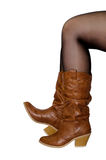 Cowboy boots. Royalty Free Stock Photography
