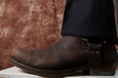 Cowboy Boots stock photos