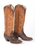 Cowboy Boots delle signore. fotografia stock
