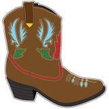 Cowboy Boots Short royalty illustrazione gratis