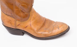 Cowboy boots vintage Stock Image