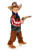 Cowboy. The boy in carnival costume cowboy Royalty Free Stock Image