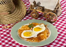Cowboy Breakfast. Royalty Free Stock Images
