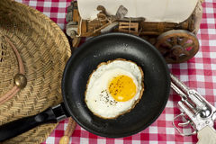 Cowboy Breakfast. Stock Photography