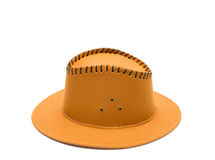 Cowboy brown hat Stock Images