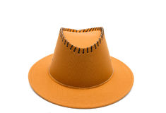 Cowboy brown hat Stock Photos