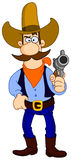 Cowboy cartoon Royalty Free Stock Photography