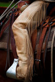 Cowboy Chaps Royalty Free Stock Photos