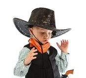 Cowboy child Stock Photography