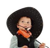 Cowboy child Royalty Free Stock Photography
