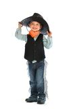 Cowboy child Royalty Free Stock Photos