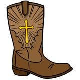 Cowboy Church Icon Stock Photos