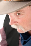 Cowboy closeup Royalty Free Stock Photo
