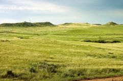 Cowboy country farmland Royalty Free Stock Photo